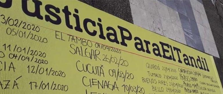 Por solicitud de víctimas, Fiscalía pide que caso de la Masacre de El Tandil regrese a justicia ordinaria