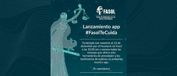 Lanzamiento aplicación móvil de prevención #FasolTeCuida