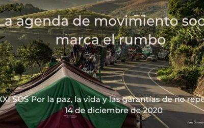 La agenda del movimiento social marca el rumbo