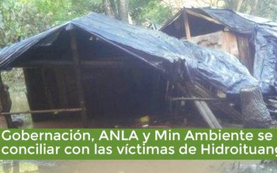 EPM, la Gobernación, ANLA y Ministerio de Ambiente se niegan a conciliar con las víctimas de Hidroituango