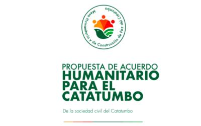 Campesinado del Catatumbo le pide al Congreso de Estados Unidos interceder por el cumplimiento del acuerdo de paz