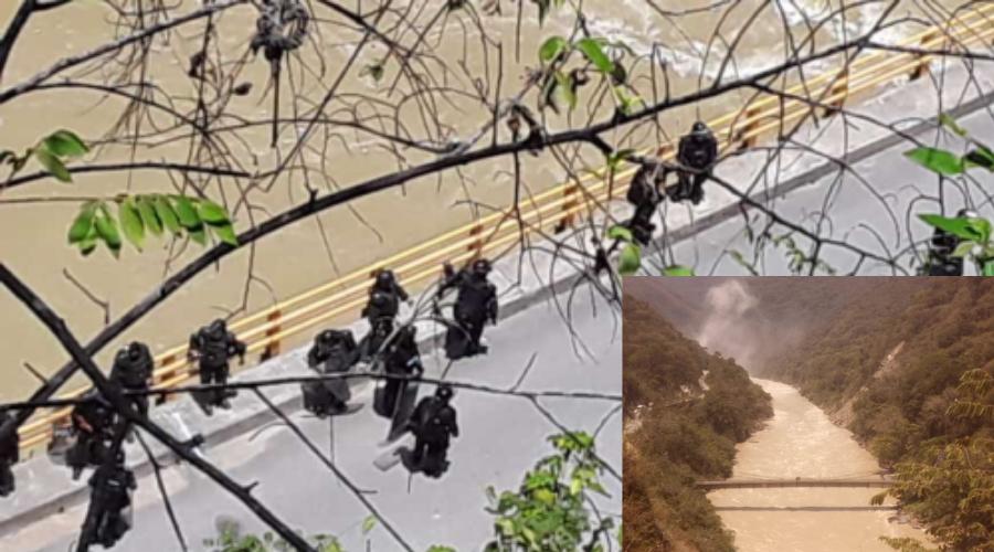 Autoridades persiguen y desalojan a comunidades pescadoras y barequeras de los municipios de Ituango y Briceño Antioquia afectadas por Hidroituango