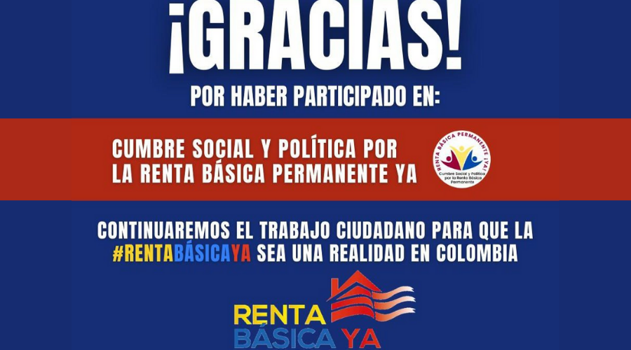 Terminó la Cumbre Social y Política por la Renta Básica Permanente