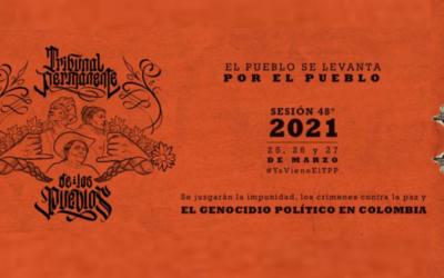 Organizaciones y Movimientos Sociales reclaman al Estado colombiano a comparecer por genocidio político ante el Tribunal Permanente de los Pueblos