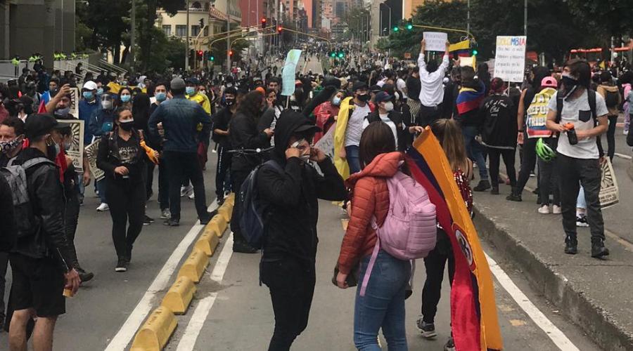 Organizaciones de Derechos Humanos piden frenar la militarización de la protesta social y el restablecimiento de garantías y libertades para la movilización ciudadana