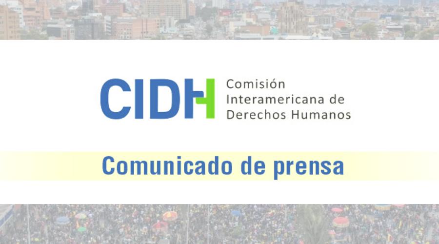 La CIDH condena las graves violaciones de derechos humanos en el contexto de las protestas en Colombia, rechaza toda forma de violencia y reitera la importancia de que el Estado honre sus obligaciones internacionales
