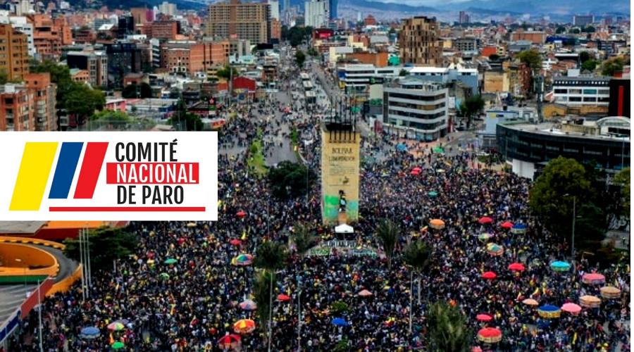 """""""Con militarización y violencia  el Gobierno Nacional bloquea la negociación"""" – Comunicado del Comité Nacional Paro 30 de mayo de 2021"""