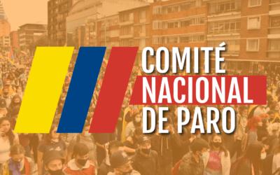Comunicado Comité Nacional de Paro  03-06-2021