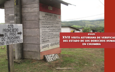 Informe: XVII Visita Asturiana de verificación del estado de los Derechos Humanos en Colombia