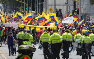 Colombia: represión sin precedentes contra los manifestantes