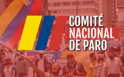 Comunicado Comité Nacional de Paro 01/06/2021