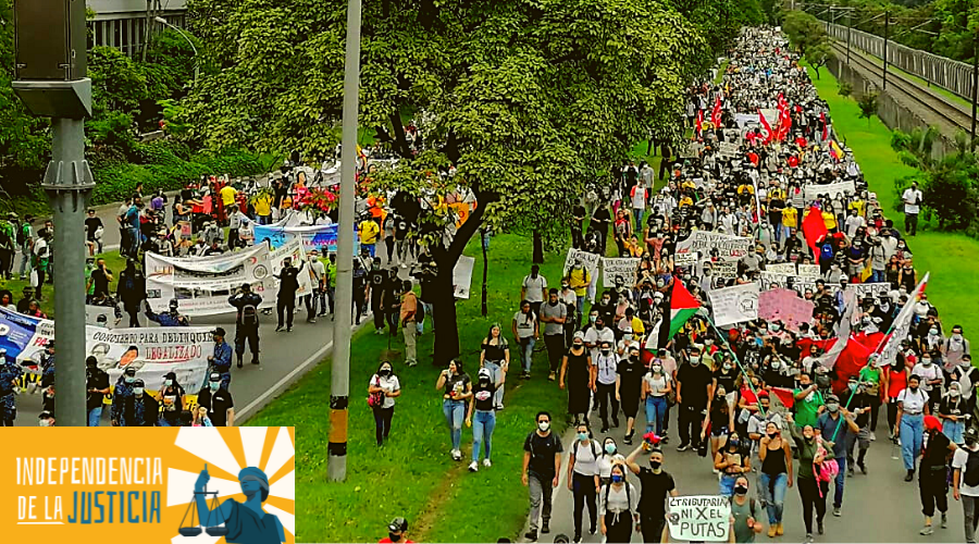 Decreto 575 de 2021:El gobierno Duque le declara la guerra a la protesta social