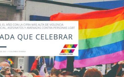 Nada que celebrar: 2020, el año con la cifra más alta de violencia policial, asesinatos y amenazas contra personas LGBT