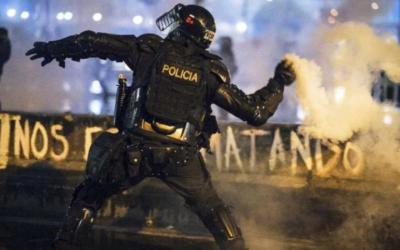 Colombia: Brutalidad policial contra manifestantes