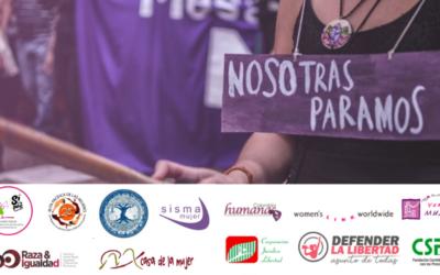 Organizaciones de derechos de las mujeres y de personas LGBTIQ presentan informes a la CIDH sobre violaciones a los derechos humanos en medio de las manifestaciones