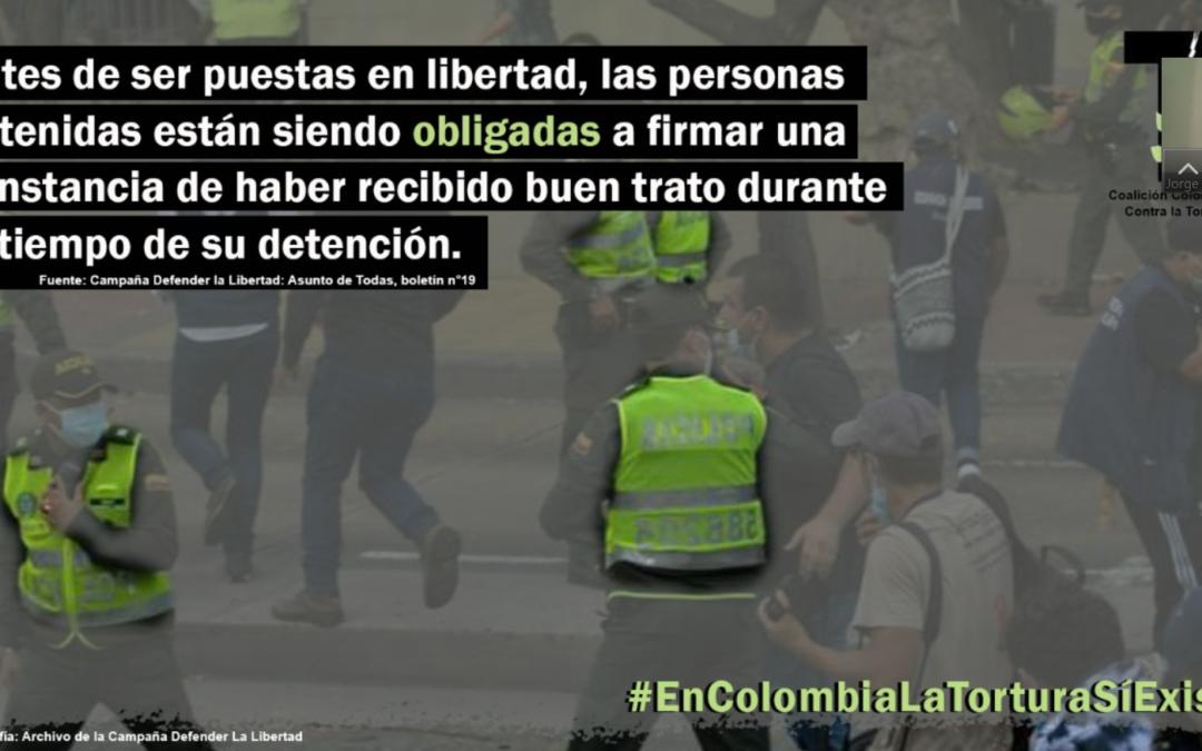 ¡Solidaridad con las víctimas de tortura durante las protestas!