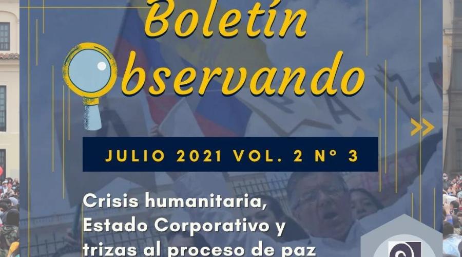 Boletín informativo trimestral sobre derechos humanos de la Coordinación Colombia Europa Estados Unidos