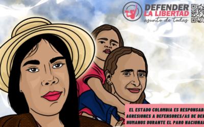 """""""El riesgo de defender la libertad en las calles""""- Informe Defender la libertad: Asunto de todas"""