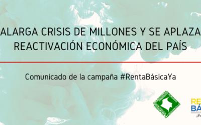 Se alarga crisis de millones y se aplaza la reactivación económica del país