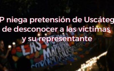 JEP niega pretensión de Uscátegui de desconocer a las víctimas y su representante