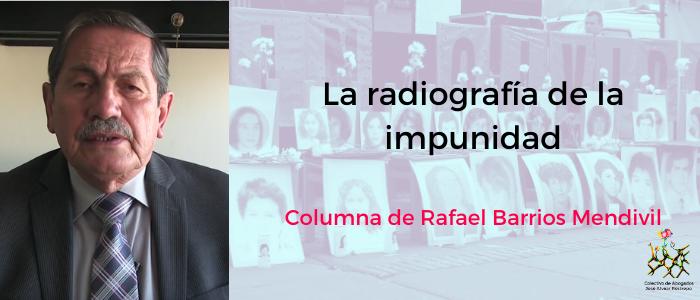 La radiografía de la impunidad