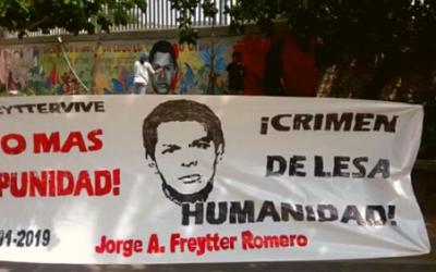 Familia del profesor Jorge Freytter exige garantías de no repetición