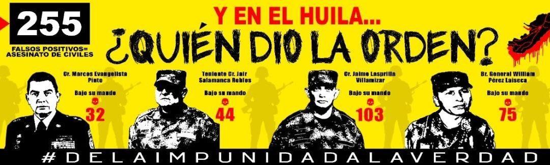 Denuncian censura a mural Quien dio la orden regional en el Huila