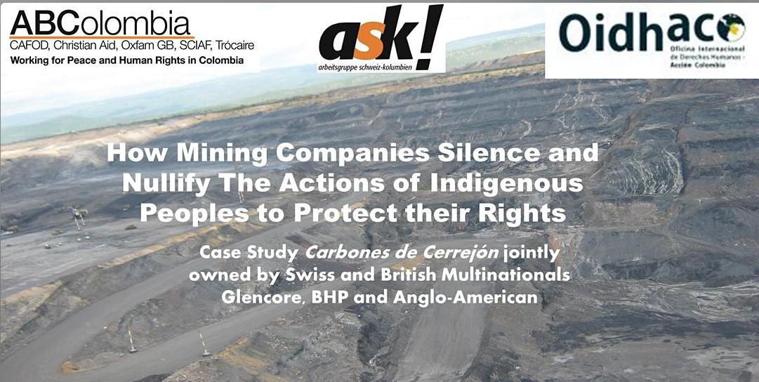 Cómo las empresas mineras silencian y anulan las acciones de los pueblos indígenas
