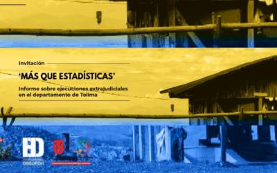 """Pedimos que comandantes de la Quinta División del Ejército entre 2000 y 2015 sean llamados ante la JEP por casos de """"falsos positivos"""" en el Tolima"""