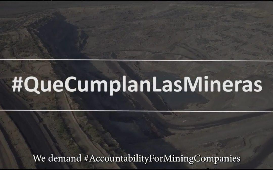 Alarma sobre las implicaciones de la reactivación de la mega minería de carbón a cielo abierto en el país